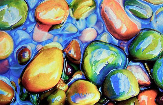 Increíbles Dibujos en Lápiz de Color por Ester Roi   FuriaMag   Arts Magazine