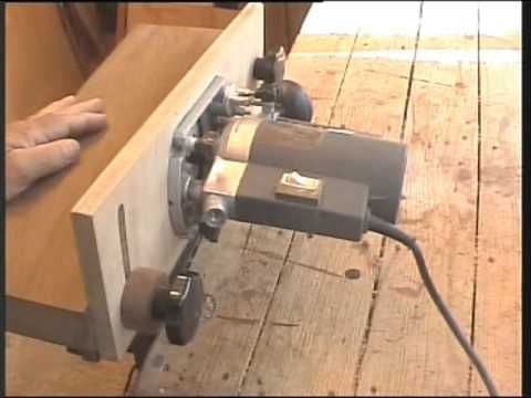 Home made router table k i s s stile youtube for Home built router