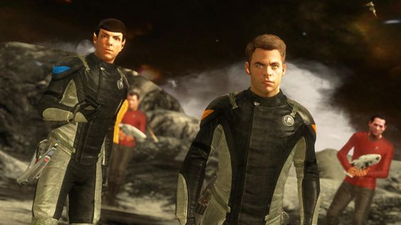 To Bodily Glow - Star Trek's Preview Involves Trying To Set Kirk On Fire. A Lot - Forbes
