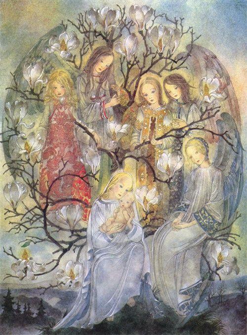 the golden age #mysticalart #spiritualart #visionaryart #inspirationalart #mystical #visionary #spiritual #ethereal #art #sulamithwulfing