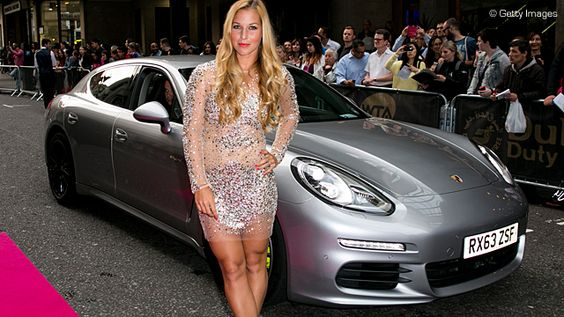 Photo of Dominika Cibulková Panamera GT - car