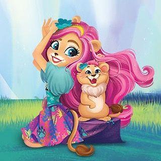 Liora Lion And Snazzy Enchantimals Liora Lioralion Snazzy Lioraandsnazzy Pet Enchantimalspet Caringisoureverythi Dibujos Bonitos Dibujos Kawaii Dibujos