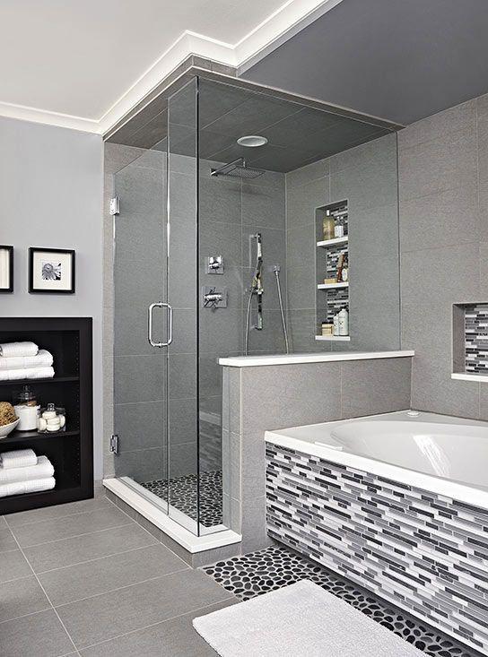 Image Result For Light Grey Bathroom Master Bathroom Decor Modern Bathroom Tile Bathroom Decor