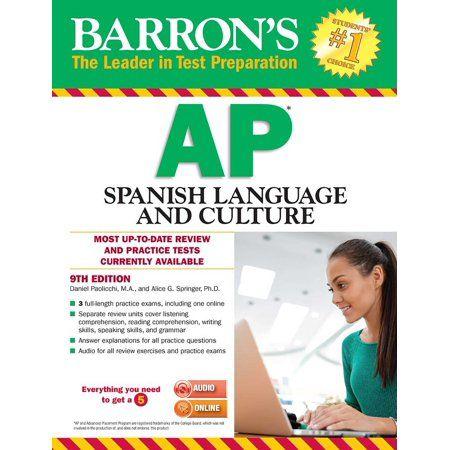 Books Ap Environmental Science Ap Calculus Ap Spanish