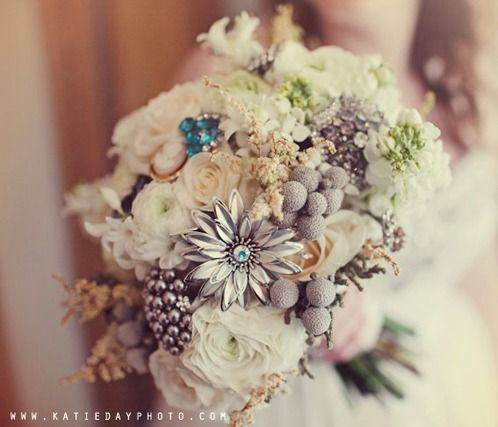 Flowers - add decor pieces to your bouquets to add detail.
