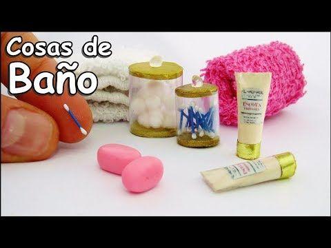 Cosas De Baño Para Muñecas Barbie Bastoncillos Jabon Shampoo Como Hacer Miniaturas Manualidade Como Hacer Miniaturas Manualidades En Miniatura Hacer Miniaturas