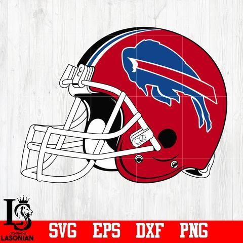 Helmet Buffalo Bills Svg Eps Dxf Png File Football Helmets Cheer Team Buffalo Bills