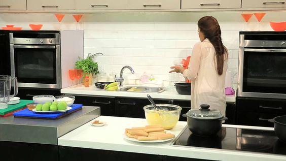 كوسة باللبن - ميلك شيك بالكيوي - كيكة الموز #أميرة_في_المطبخ #أميرة_شنب ...