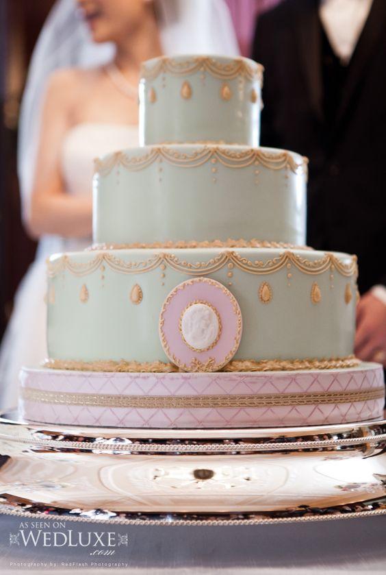 parisian style wedding cake :)