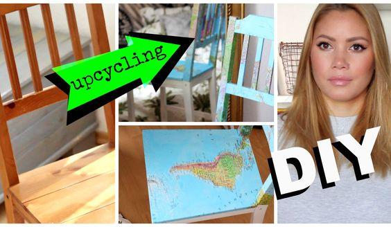 Ein schönes DIY Projekt zum Theme Upcycling! Vielleicht habt ihr ja auch ein älteres Möbelstück, das ihr neugestalten möchtet? Ich zeige euch heute meine Var...