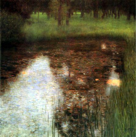 El Pantano           Autor: Gustav Klimt Estilo: Modernismo Tema: Naturaleza