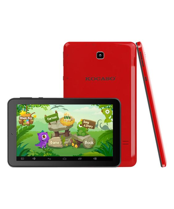 Look what I found on #zulily! Red & Black MX780 Kids Tablet Set by KOCASO #zulilyfinds