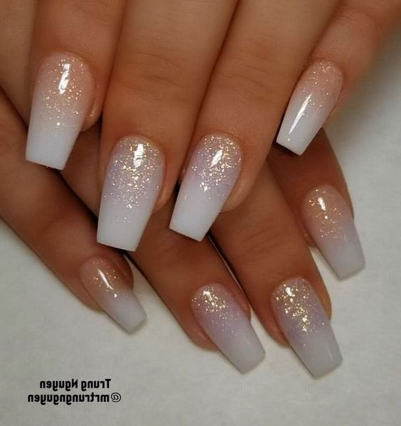 52 Best Eye Catching And Trendy Coffin Acrylic Nails Design For