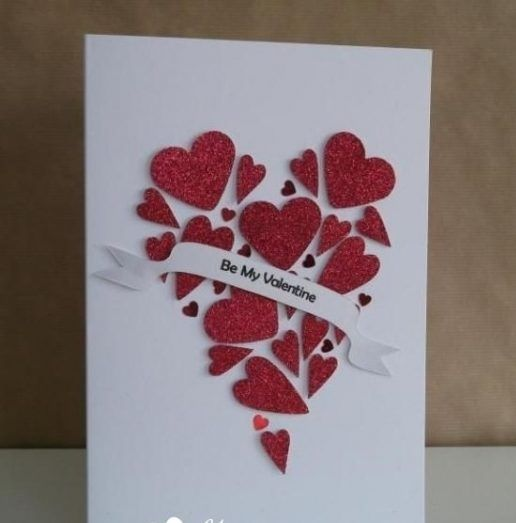 Creative Rose Day Cards With Hearts Valentine Cards Handmade