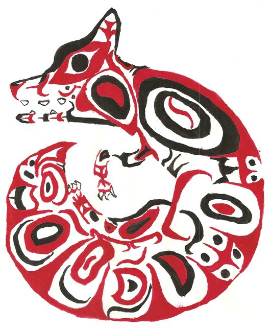 native american animal art - Google Search