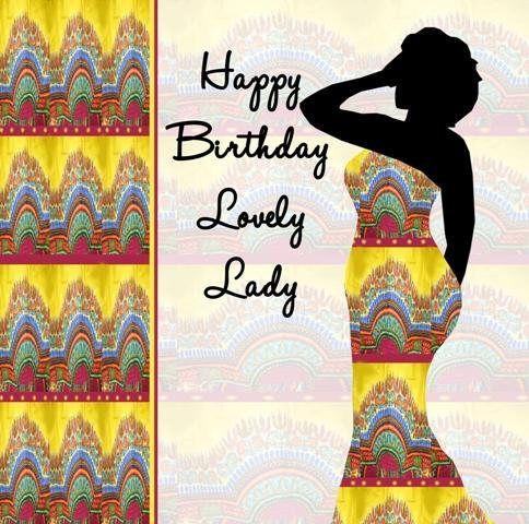 Black Birthday Card Lovely Lady Happy Birthday Black Happy Birthday Funny Its My Birthday Month