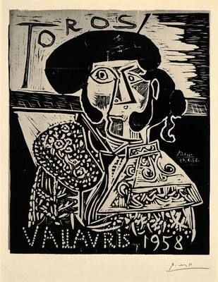 Pablo Picasso, Matador, Toros Vallauris, 1958