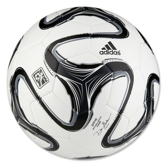adidas 2014 MLS Glider Soccer Ball (White/Black/Night Shade)