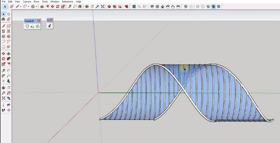 Sketchup Tools Are Making Things Easier And Creating A Ribbon