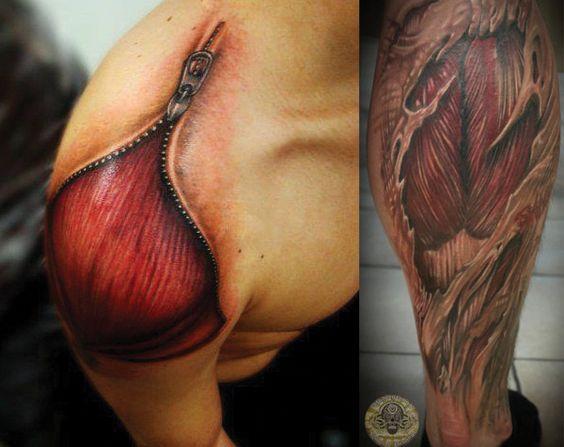 tatuajes gay muscular