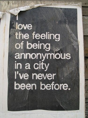 "I love the feeling of knowing I can spell ""anonymous""."