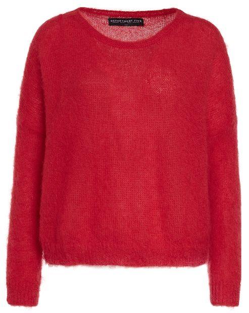 Department 5 Strickpullover mit Oversize-Cut – rot Jetzt auf kleidoo.de bestellen!  #kleidoo #shoppingonline #fashion #newseason #pullover #strick #strickpullover #rot #red #oversize