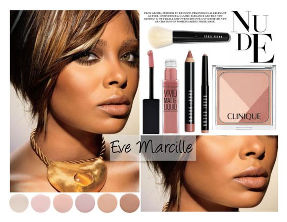 """Beauty Mark"" by louise-frierson ❤ liked on Polyvore featuring beauty, Deborah Lippmann, Clinique, Bobbi Brown Cosmetics and Maybelline"