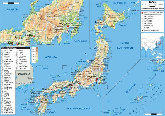 Image Result For Japan Map Japan Pinterest Japan - Map 0f japan