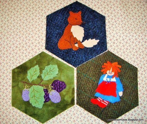 Moose bay muses, stitching society