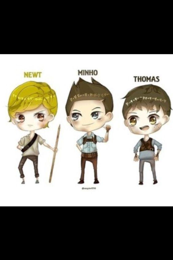 Newt Minho Thomas