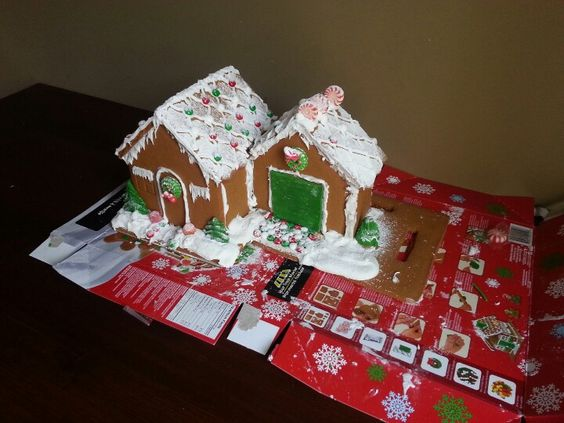 """Made by """"Gingerbread engineering group"""""""