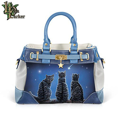 Lisa Parker Wish Upon A Star Cat Purse