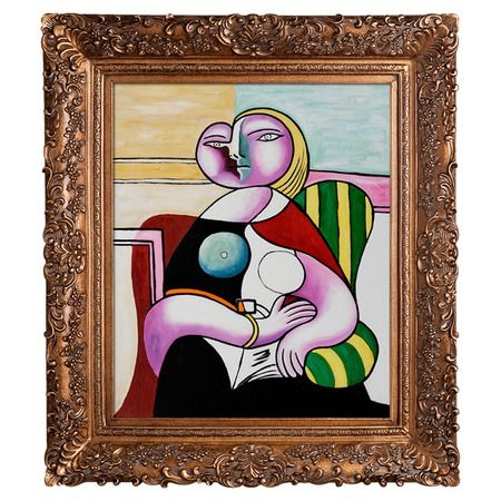 Woman Reading  Pablo Picasso
