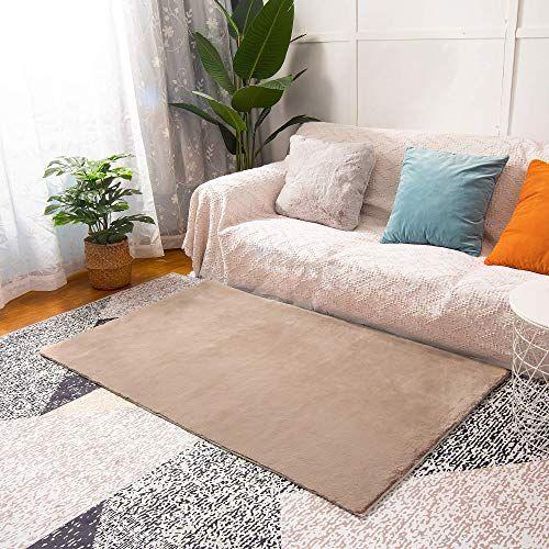 Best Seller Winnry Rugs Bedroom 3x5 Khaki Non Slip Area Rugs