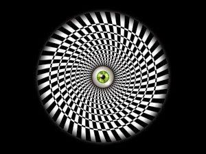 Hypnotizing Wallpaper Illusioni Ottiche Illusioni Frattali