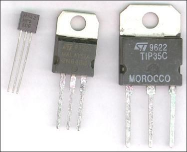 transistor types