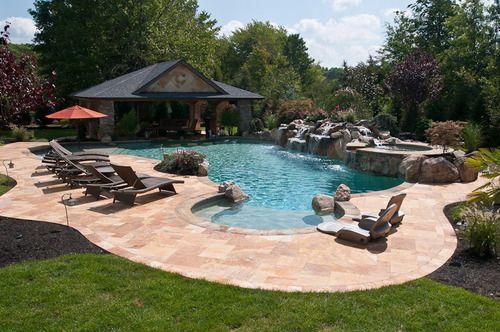 Swimming Pools Backyard Backyard Pool Landscaping Stone Pool