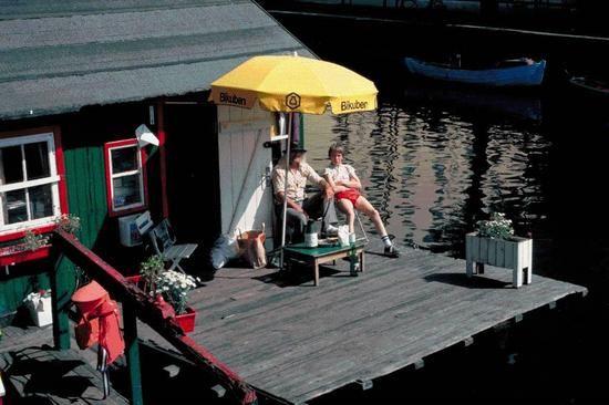 Houseboat, Christianshavn Cph.