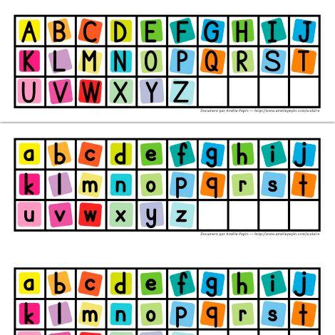 Lettres minuscules et majuscules langage pinterest - K en majuscule ...