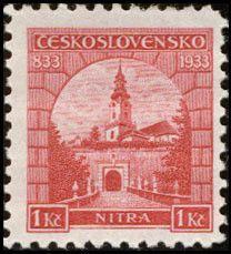 Bélyeg: Nitra (Csehszlovákia) (Kastélyok, tájak és városok) Mi:CS 320,Sn:CS 193,Yt:CS 283,AFA:CS 183,POF:CS 274