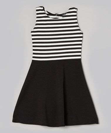 Black 7 white dresses zulily clothes