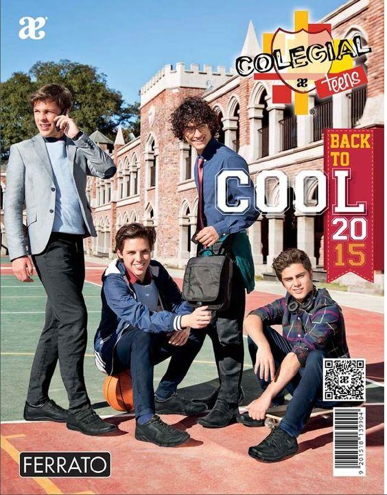 catalogo andrea colegial teens cool verano 2015 ferrato