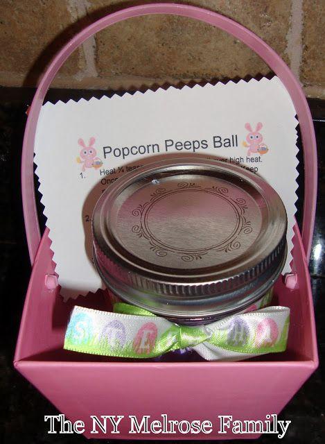 Popcorn Peeps Ball | The NY Melrose Family - Part 2