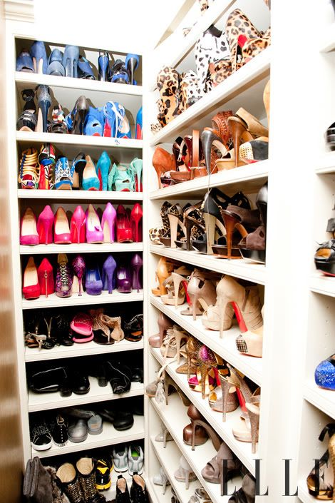 One day I'll have a high heel in every color, every style