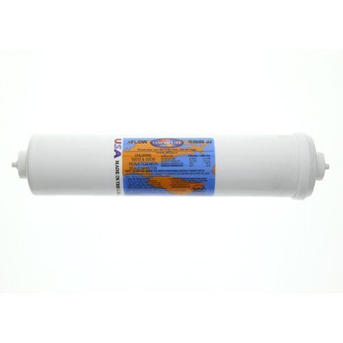 Omnipure K5686jj Inline Carbon Filter With Scale Inhibitor And 1 4inch Qc Straight By Omnipure Visit The Im Room Air Conditioners Carbon Filter Conditioners