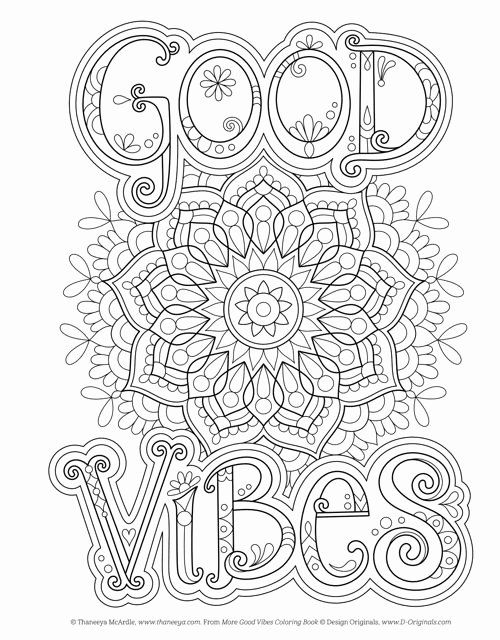 Good Vibes Coloring Books Inspirational 80 Pdf D Originals Coloring Books Printable And Work In 2020 Coloring Books Doc Mcstuffins Coloring Pages Cool Coloring Pages