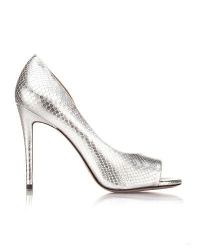 lescarpin flavia argent de pura lopz est contemporain et tincelant shoes mariage - Escarpin Argent Mariage