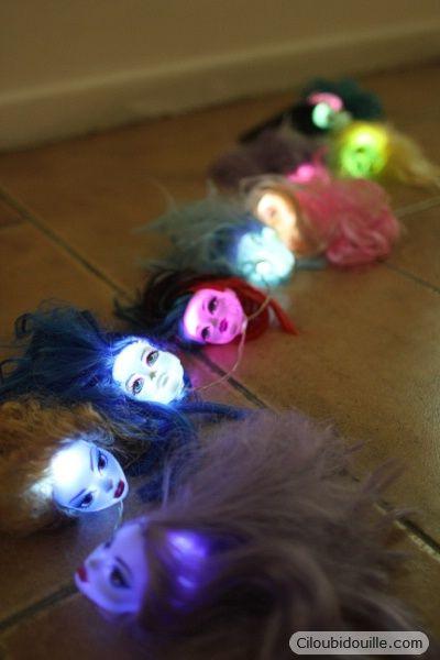 Guirlande lumineuse d'Halloween | Ciloubidouille: