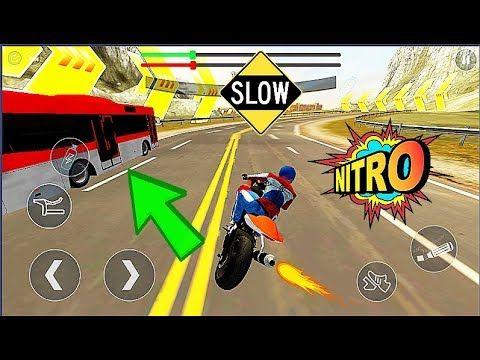 Bike Vs Bus Motor Bike Racing Simulation Game Android Gameplay