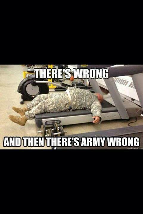 Gay military jokes